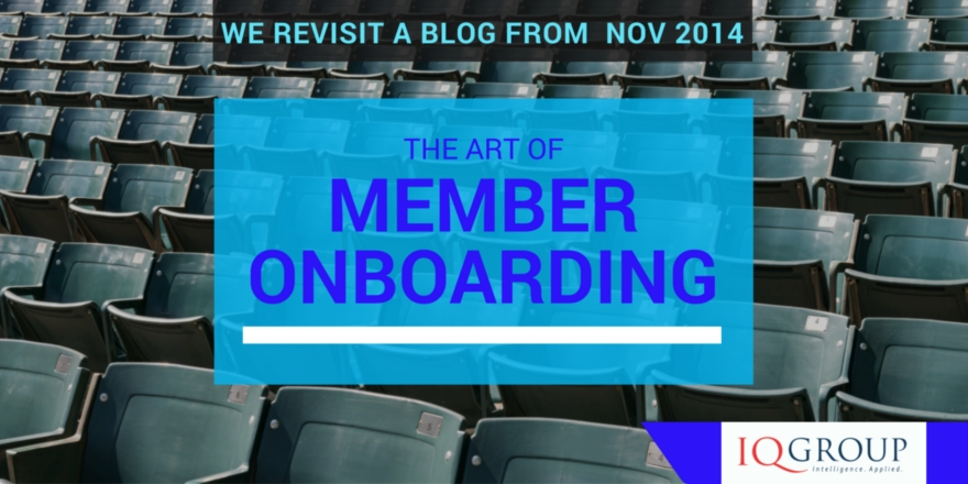 The Art of Member Onboarding
