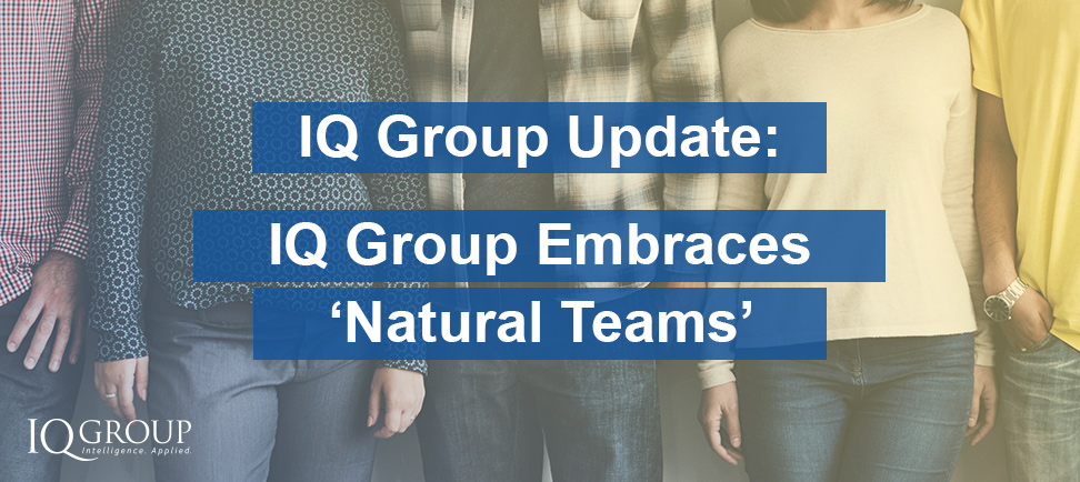 IQ Group Embraces Natural Teams