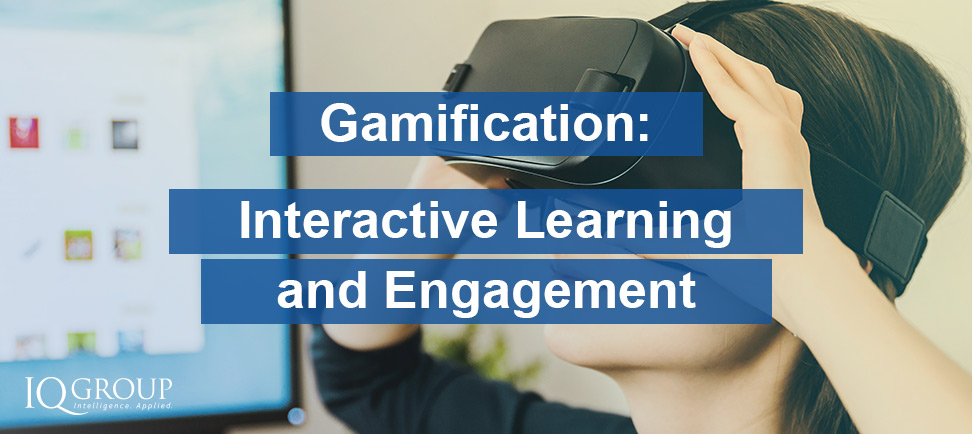 Gamification – Interactive Learning and Engagement