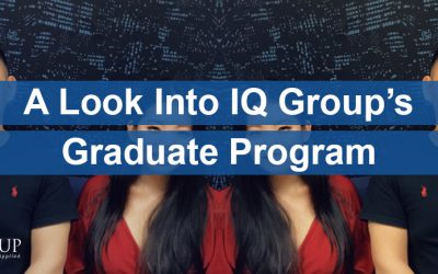 A Look Into IQ Group's Graduate Program