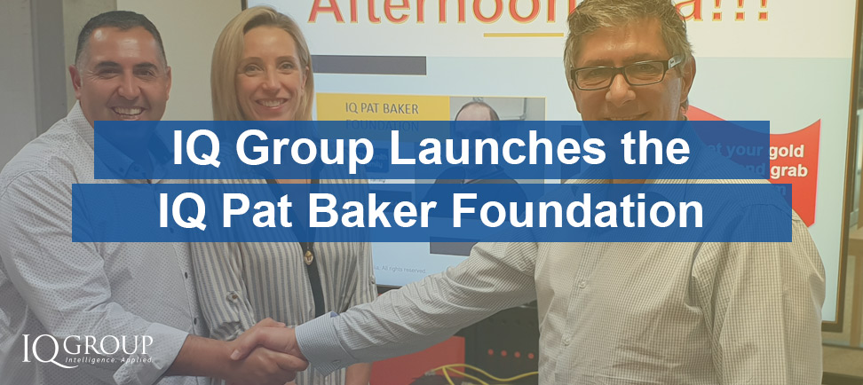 IQ Group Launches the IQ Pat Baker Foundation