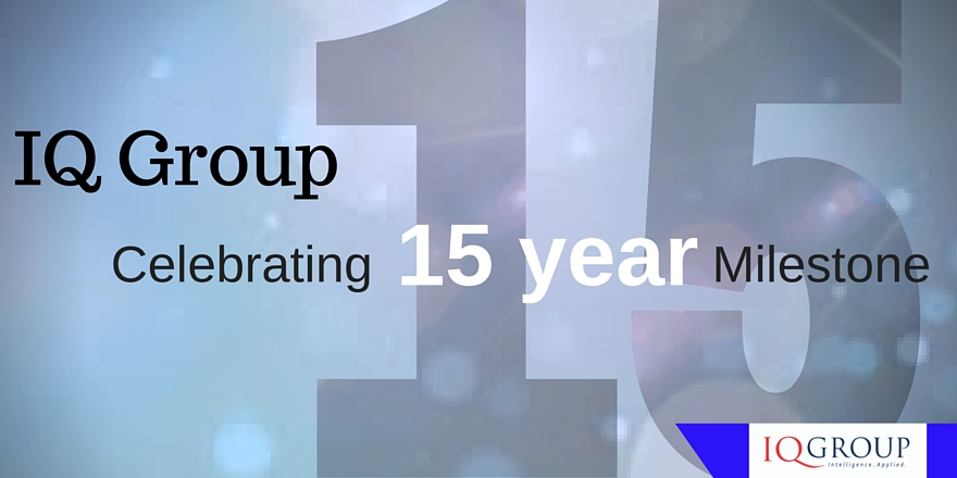Celebrating IQ Group's 15 year milestone