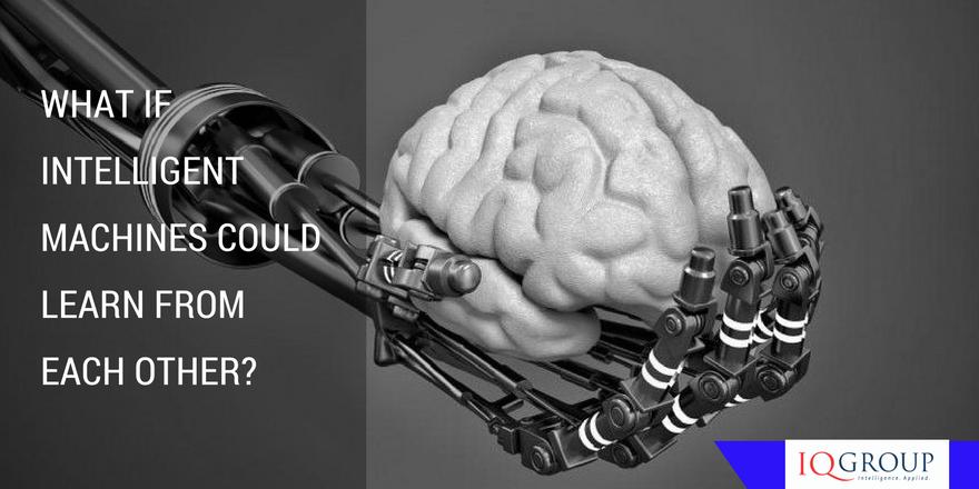 What if Intelligent Machines could learn from each other?