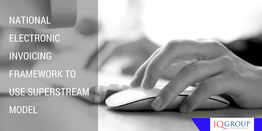National electronic invoicing framework to use SuperStream model