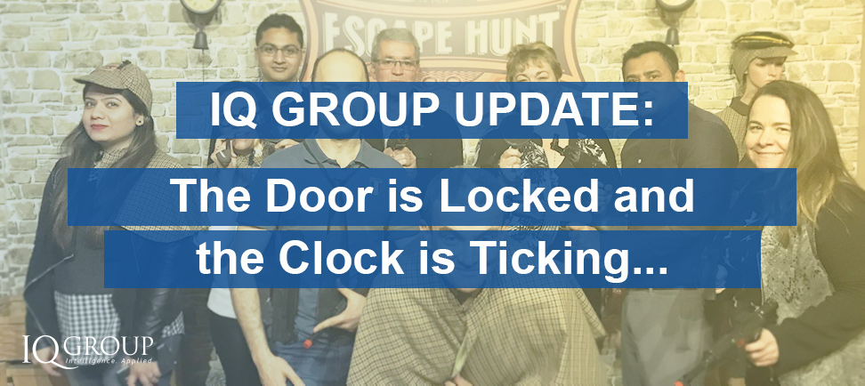 The door is locked and the clock is ticking!