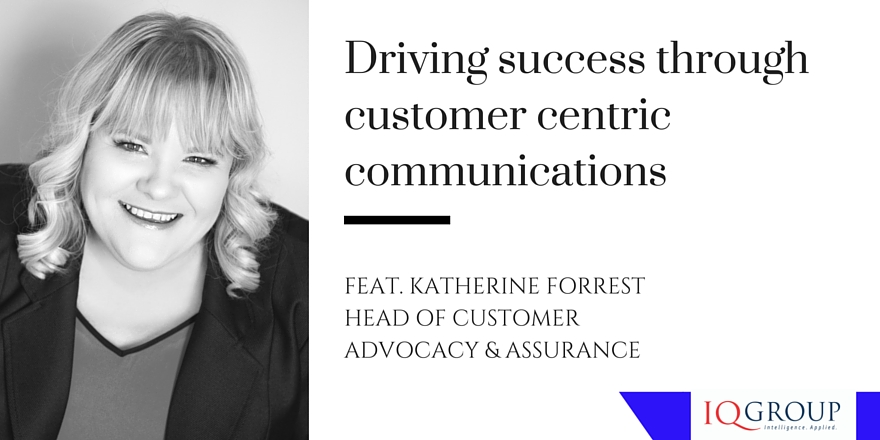 Driving success through customer centric communications