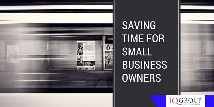 Saving Time for Small Business Owners