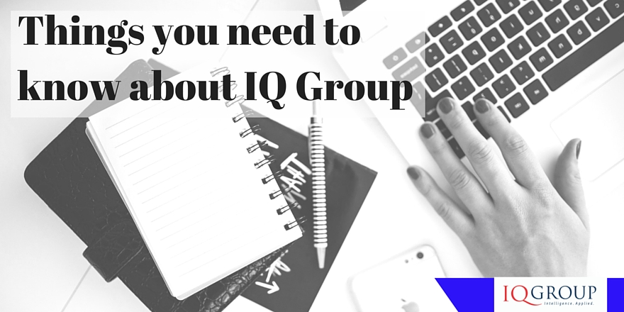5 Things you may not know about IQ Group Consulting