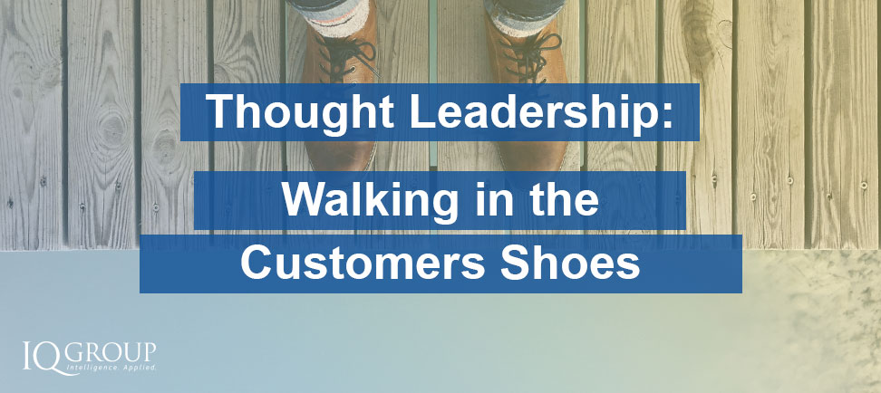 Walking in the Customers' Shoes