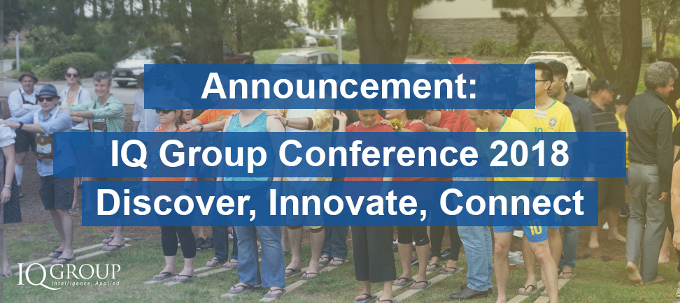 IQ Group Conference 2018 – Discover, Innovate, Connect