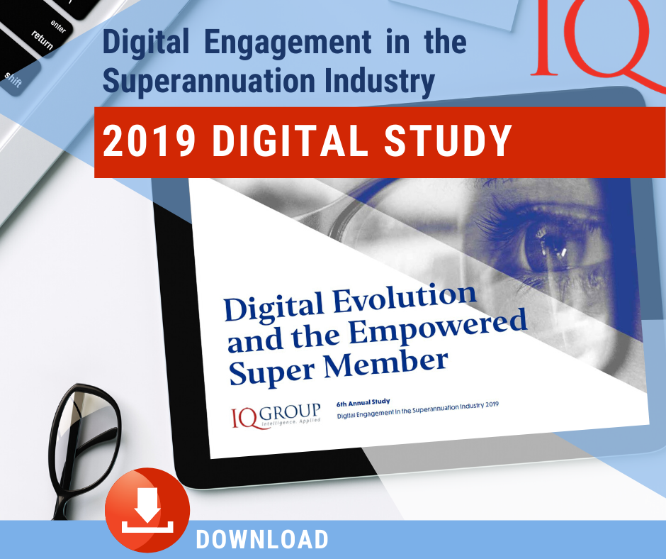 DOWNLOAD | Digital Engagement in the Superannuation Industry 2019